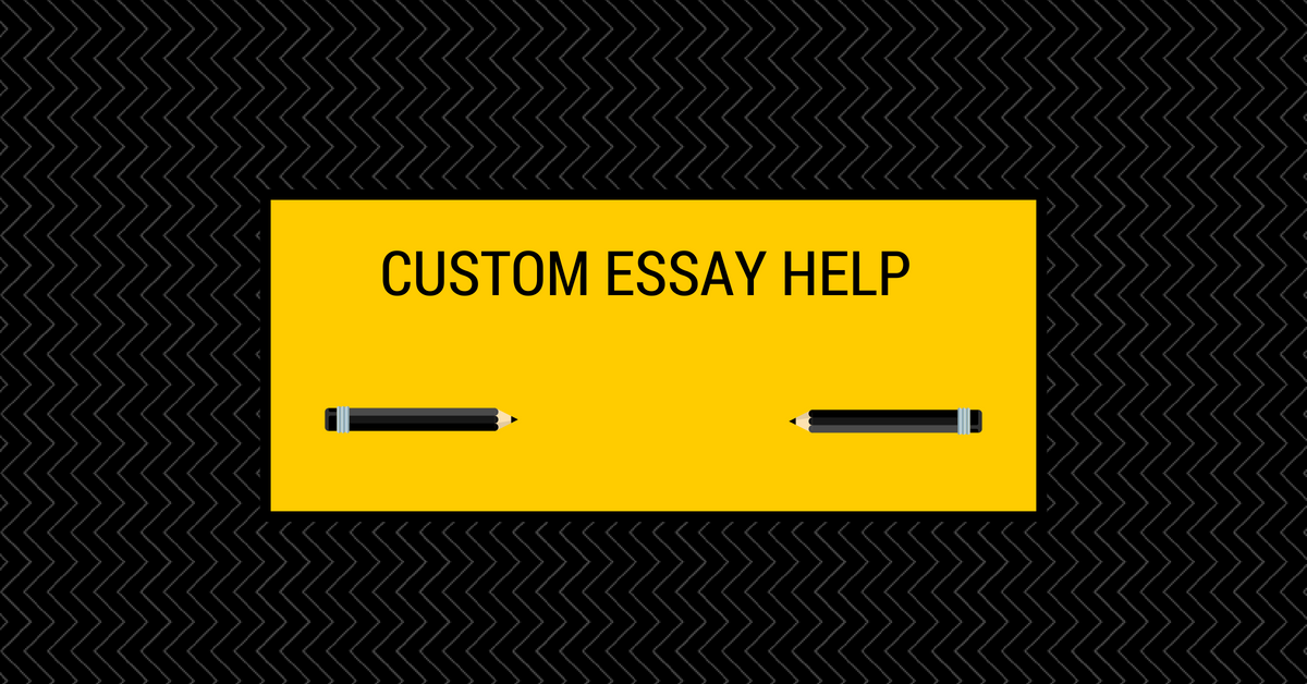 Custom essay writing help